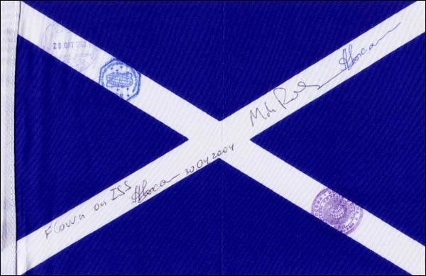 Flown Scottish Flag