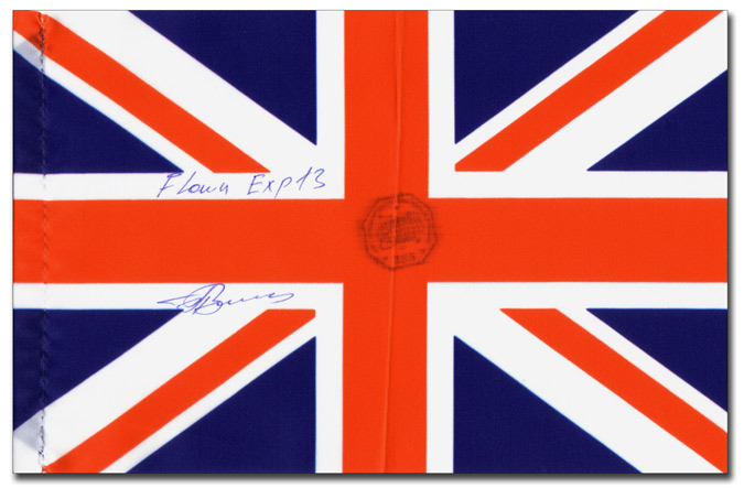 UK Flag from Exp-13